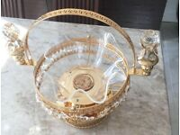 Decorative crystal ornament