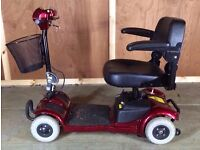 FreeRider Ascot Small Travel Mobility Scooter