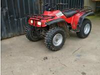 Honda big red 4x4 quad
