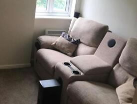 Lazyboy Celebration 2 Seater Power Recliner Sofa with Sound