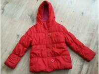 Next girls coat age 9-10 years