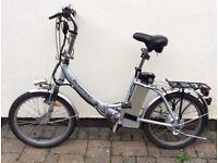 Electric Folding Bike. Bearprint (Freego)