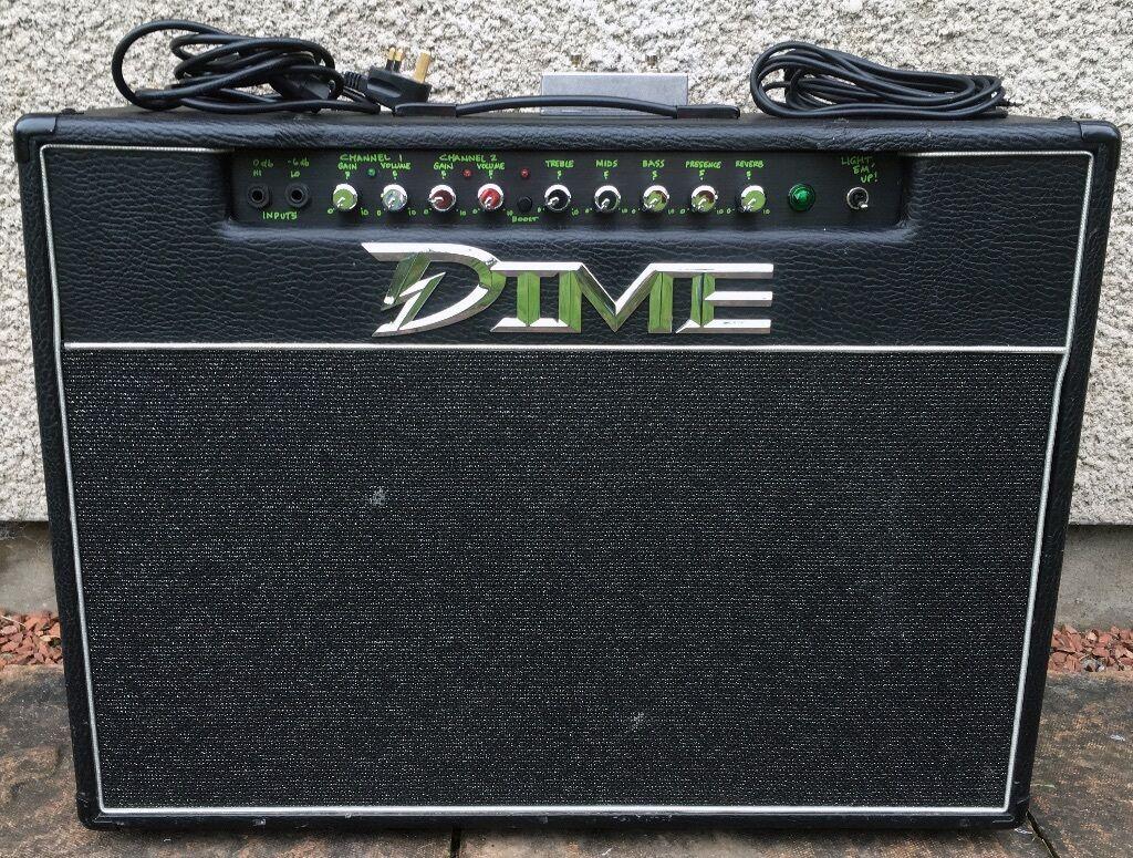 dean dime d100 2x12 guitar combo amp amplifier dimebag darrell randall rg100 in yate