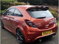 Vauxhall Corsa Nurburgring in Chilli Red
