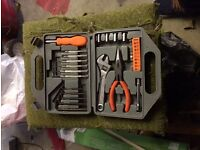 We have tool set in box for sale