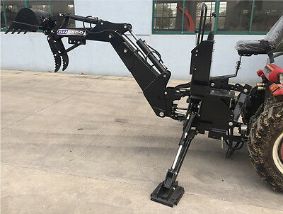Heavy Equipment Attachments - 3 Point Backhoe