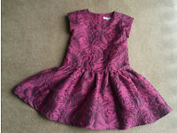 Designer dress - age 5 - fully lined, worn once