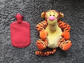 Boots soft plush Tigger pyjama case/hot water bottle case