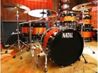 Natal 4 piece maple drum kit for sale