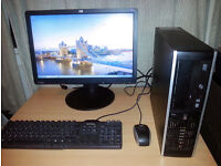 HP Compaq 6005 Pro Desktop PC - Full Setup