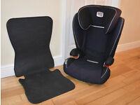 Britax Kidfix Romer - Trend Line Car Seat - Plus Neat Seat Black rubber seat protector