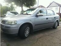 VAUXHALL ASTRA Club 1.6 2002 with 12 months mot