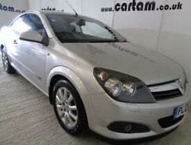 2008 Astra TwinTop 1.6 16v Sport 83k FSH Alloys CD AC MOT Feb 2019 HPi Clear £2195 Convertible