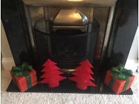 2 x Christmas Present Lights & 2 X Christmas Tree Lights