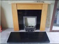 Beech Fireplace surround