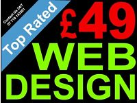 £49 Web Design Or Ecommerce Website + SEO + Google Ads + Logo + Content + 5yrs Free Host & Much More