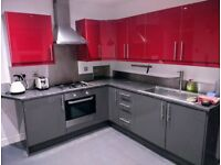 **SECOND-HAND FITTED KITCHEN**