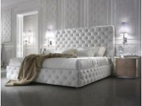 BEDS SWAN BEDS SLEIGH BEDS WINGBACK BEDS ALL SIZES AND COLORS WITH FREE DELIVERY