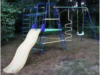 ELC Climbing Frame, Platform, Slide, Extension, Ladder Attachment, Scramble Net, Swing Attachment
