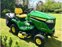 "John Deere X350R Ride on Mower - 42"" deck - collector - lawnmower tractor - Countax/kubota"