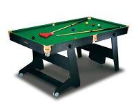 Folding Snooker/Pool Table