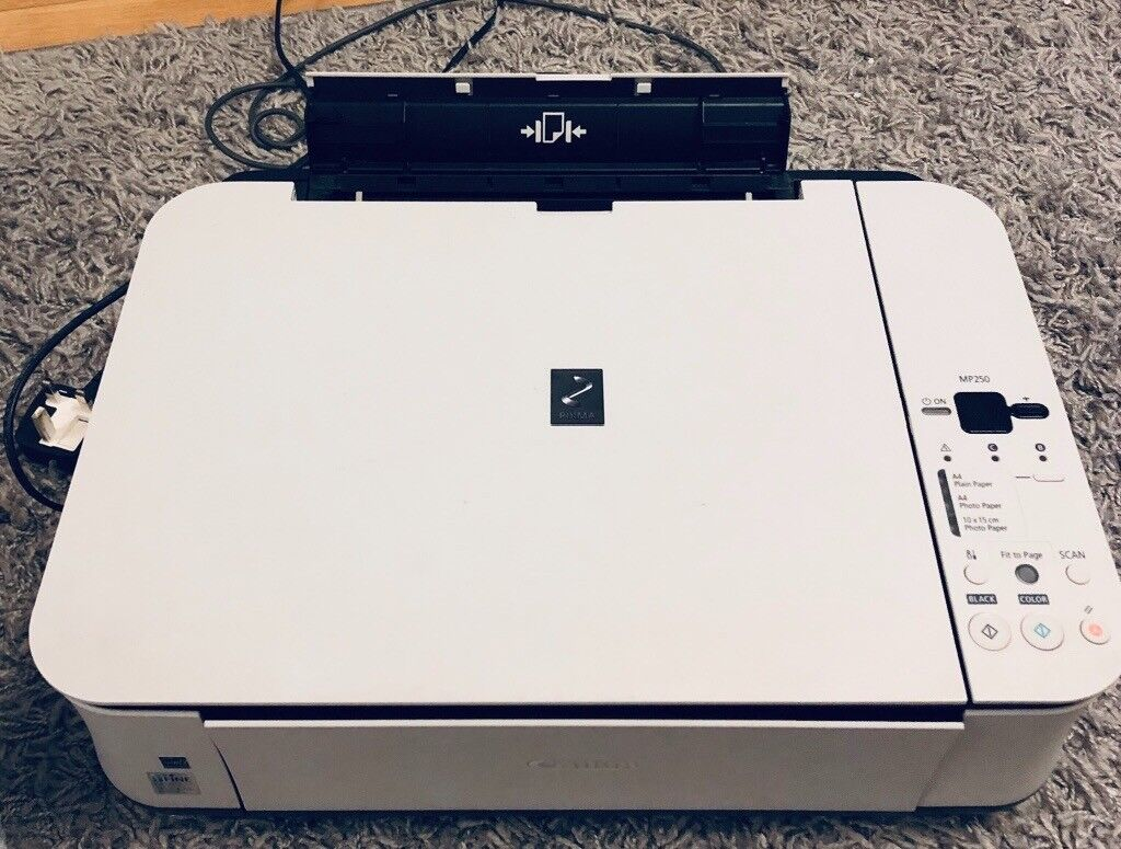 Canon Pixma MP250 Printer & Scanner with 2 new ink cartridges | in  Pontprennau, Cardiff | Gumtree