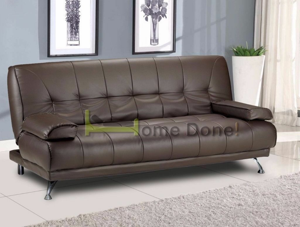 Clearance Venice Italian Leather Sofabed