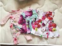 Ted Baker bundle. 0-3 and 3-6 months baby girl clothes. All brand new.