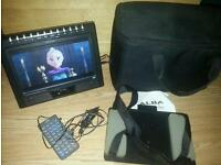 "ALBA 9"" IN CAR PORTABLE DVD PLAYER"