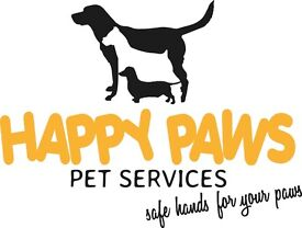 Happy Paws Pet Services - Dog Walking