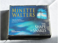 The Shape of Snakes 4 CD audio book by Minette Walters
