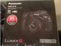 Panasonic DMC-G7 Compact System Camera 16 MP, MOS Sensor with 14 - 42 mm Lens