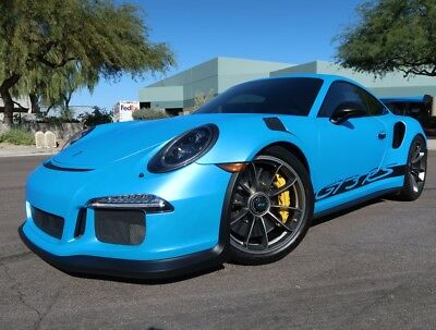 Ceramic Brakes Front Lift Custom Color Custom Exhaust GT3 RS 2018 2016 2019