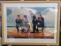 Framed Jack Vettriano Print Elegy For A Dead Admiral