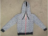 ANIMAL UK Women's / Girls Summer Zip Hoodie Jumper Top Size 10
