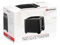Toaster - Brand New with Box - Available in black, red and white