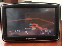 TomTom XL IQ Routes GPS Receiver UK and ROI maps Sat Nav Sat-nav