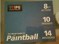 10 IPG Paintball Tickets! Collectively worth £300 [PLUS 1000 FREE PAINTBALLS!]