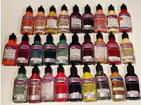 Nail paints for airbrushing nails