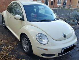 Volkswagen Beetle Luna 1.6 petrol in cream/harvest moon beige