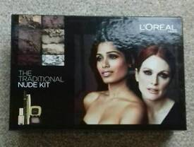 L'oréal The Traditional Nude Kit Make Up set