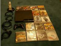 Sony PS3 Superslim Bundle & 15 Games