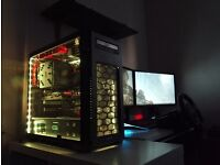 4K / VR Ready High End Gaming PC + 3D Monitor £790 no Offers