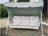 Garden Swing Chair (three-seater)