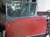 1956 olds 98 LF DOOR W/GLASS AND POWER WINDOW MOTOR GC $125.00