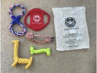 PUPPY / SMALL DOG TOYS - CHEWING / TEETHING - NATURES BUDDY - FOR SMALL PUPPIES - NEW