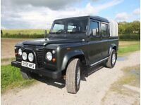 LR Defender 110 2.5 County Double Cab 4dr