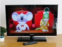 """32"""" SAMSUNG C530 LCD HD TV Excellent Working Order Digital HiDef Television Freeview 32inch 1080p"""