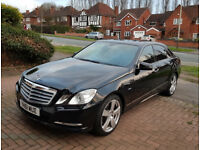 2011 / 61 reg Mercedes Benz E Class W212 2.1 E220 CDI BlueEFFICIENCY SE Edition 125 4dr (start/stop)