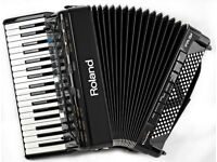 Roland FR-3x V Accordion - 37 Keys / 120 Bass with Built in Speakers - Excellent Condition with Bag